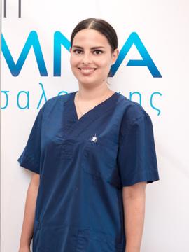Τζόκα Ευαγγελία, DMD, MSc - Ειδικευθείσα στην Αισθητική και Αποκαταστατική Οδοντιατρική